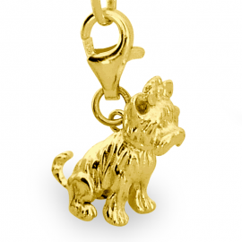 ZŁOTY CHARMS PIES Yorkshire Terrier PR. 333