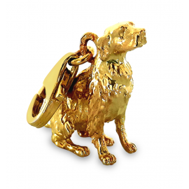 ZŁOTY CHARMS PIES GOLDEN RETRIEVER PR. 333