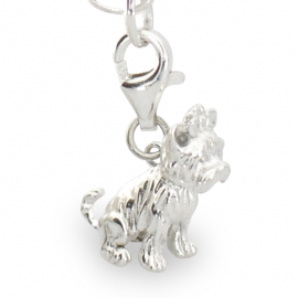SREBRNY CHARMS PIES YORKSHIRE TERRIER PR. 925