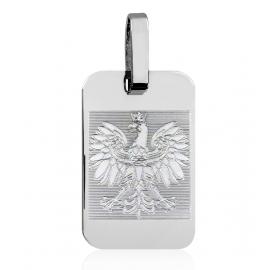 SREBRNY WISIOREK NIEŚMIERTELNIK Z ORŁEM ORZEŁ PR. 925 + GRAWER GRATIS!