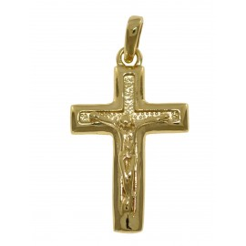 ZŁOTY KRZYŻYK Z UKRZYŻOWANYM JEZUSEM PR. 585