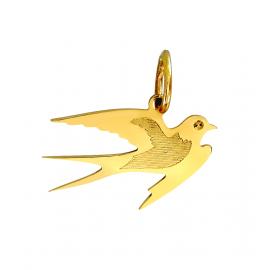 Wisiorek JASKÓŁKA ze złota próby 585