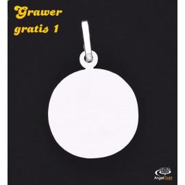 SREBRNY WISIOREK KÓŁKO KOŁO PR. 925 + GRAWER GRATIS!
