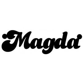 SREBRNY NASZYJNIK Z IMIENIEM MAGDA PR. 925 - DOWOLNE IMIĘ