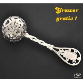 SREBRNA GRZECHOTKA NA CHRZEST DZIECKA PR. 925 GRAWER GRATIS!