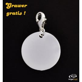 SREBRNY CHARMS KÓŁKO KOŁO PR. 925 + GRAWER GRATIS!