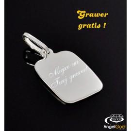 SREBRNY WISIOREK NIEŚMIERTELNIK PR. 925 + GRAWER GRATIS!