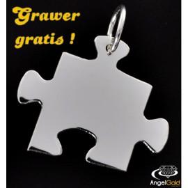 SREBRNY WISIOREK PUZZEL PR. 925 + GRAWER GRATIS!