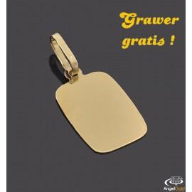 ZŁOTY NIEŚMIERTELNIK GŁADKI PROSTOKĄTNY PR. 333 + GRAWER GRATIS!